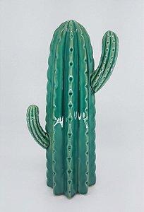 Cacto Decorativo em Cerâmica Médio - Verde