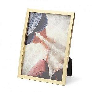Porta Retrato Senza 10x15cm - Dourado