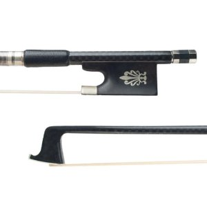 Arco Violino Fibra de Carbono prateado