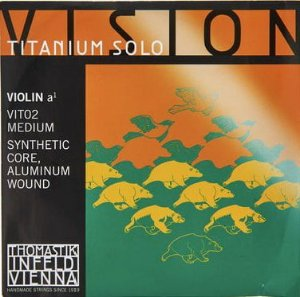 Cordas Violino 4/4 Thomastik Vision Titanium Solo