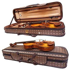 Estojo Violino 4/4 Extraluxe retangular
