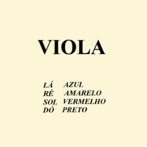 Cordas Mauro Calixto Viola