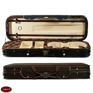Estojo Violino 4/4 Retangular Luxuoso