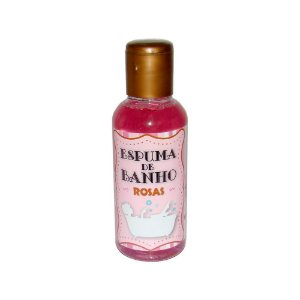 Espuma de Banho Afrodisíaca - SPA - Rosas - 120 ml