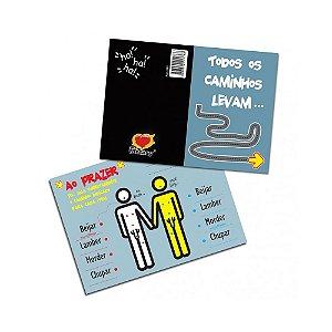 Cartão Gay - Todos os Caminhos Levam ao Prazer!