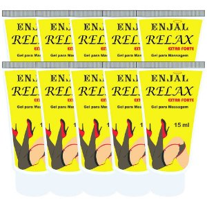 Relax Dessensibilizante Anal Extra Forte 4 Funções 15 ml 10 Und