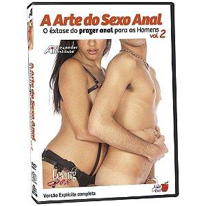 A Arte do Sexo Anal - Volume 2 - DVD Educativo
