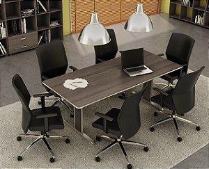 Mesa de Reunião Retangular