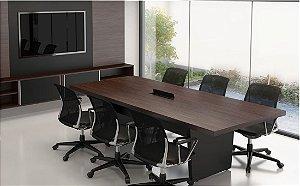 Mesa de Reunião Retangular Boss
