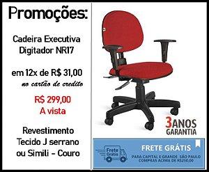Cadeira Digitador NR 17