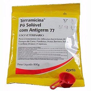 TERRAMICINA PO SOLUVEL COM ANTIGERM 77 100g