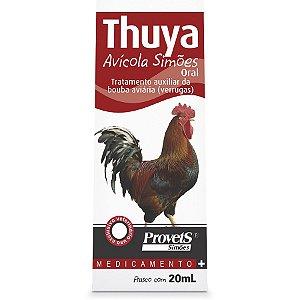 THUYA AVICOLA ORAL 20ML - PROVET SIMOES