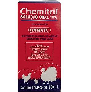 CHEMITRIL 10% ENROFLOXACINO ANTIBIOTICO 100ML