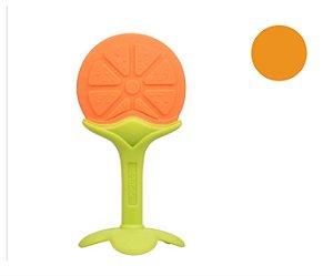 Mordedor e Massageador Infantil Frutinhas 100% Silicone - Vários Modelos