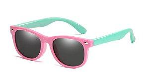 Óculos de Sol Infantil Polarizado Inquebrável Indestrutível com Proteção UVA e UVB
