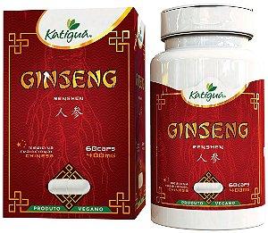 Ginseng 400mg 60 Capsulas Vegano Medicina Chinesa Katiguá