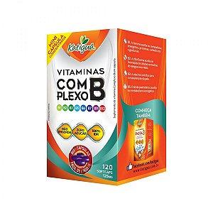 Vitaminas Do Complexo B - 125mg - 120caps - Katigua
