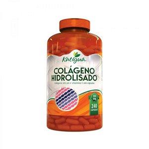 Colágeno Hidrolisado Com Vitamina C - 240 Cáps - Katiguá