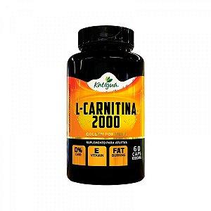 L-carnitina 2000 com Vitamina E e Óleo de Cartamo - 60 Caps - Katigua