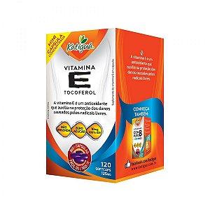 Vitamina E Tocoferol 10mg Por Porção - 120 Caps - Katigua