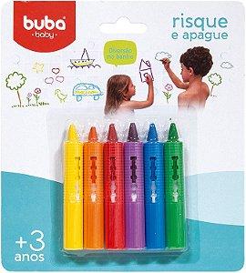 Giz de Banho Risque E Apague - Buba Baby