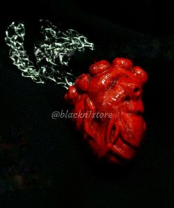 Colar Coração Anatômico