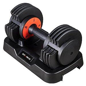 Dumbell Halter Regulável STARKE 5 - 25lbs (2,3kg - 11,5kg)