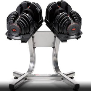Dumbell Regulável 4 a 41 kg Bowflex SelectTech (par)