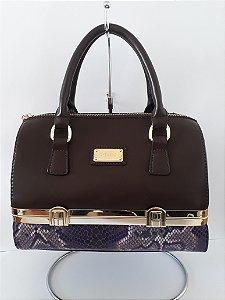 f2e080120 Bolsa Marrom Veryrio Matelassê ( TAMANHO M) - Silvia Ferraz Boutique ...