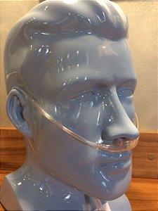 Kit com 05 Cânulas (cateter) Nasais  de Oxigênio Adulto