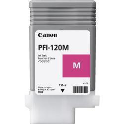 Original PFI-120M Cartucho de Tinta Magenta PFI 120C 2887C001AA Canon 130ml