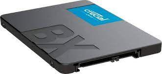 SSD 240GB Crucial BX500 SATA Leitura 540MB/s, Gravação 500MB/s - CT240BX500SSD1
