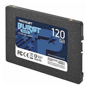 SSD 120GB Patriot Burst PBE120G SATAIII PBE120GS25SSDR