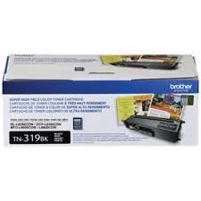 TN-319BK - Toner Original Brother TN319BK Preto Autonomia 6.000Paginas