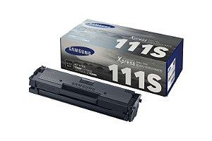 Original D111S Toner Samsung Preto MLT-D111S Autonomia 1.000Páginas