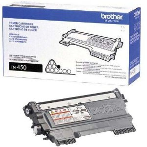 Original TN-450 Toner Brother Preto TN450 Autonomia 2.600Páginas