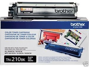 TN210BK - Toner Original Brother Preto Autonomia 2.200Paginas