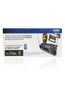 TN-316BK - Toner Original Brother TN316BK Preto 4.000Páginas Aproximadamente