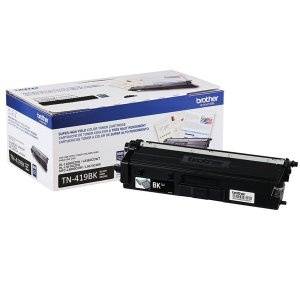 Original TN419BK Toner Brother Preto TN-419BK Autonomia 9.000Páginas