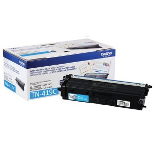 Original TN419C Toner Brother Ciano TN-419C Autonomia 9.000Páginas