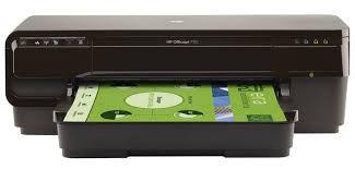 7110 Officejet Impressora HP Jato de Tinta Wifi Ubs Ethernet Formato A3 - 110v