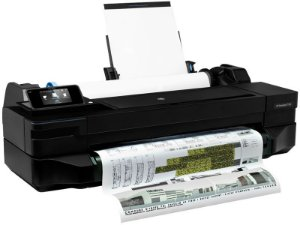 CQ891C - Plotter Grande Formato HP Hardware HP Designjet T120 Eprinter de 61CM 24 Até A1
