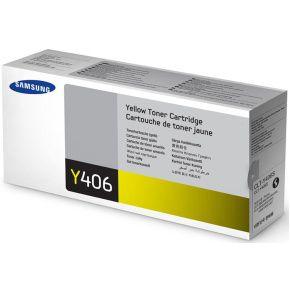 Original CLT-Y406S Toner Samsung Amarelo Y406S Autonomia 1.000Páginas