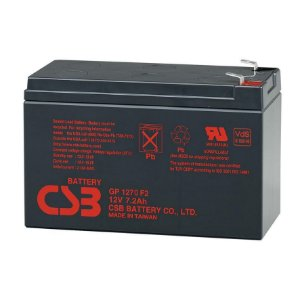 Bateria GP1272 Selada CSB VRLA  12V-7.2AH-28W
