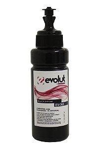 Garrafa para tanque de tinta compatível com impressoras Epson e HP Preto 100ML