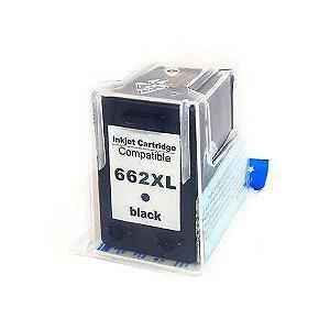 662XL - Cartucho de tinta Compativel HP CZ105AB Preto 360Páginas aproximadamente