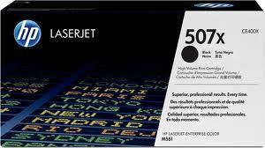 Original CE400X 507X Toner HP Preta 11.000Páginas