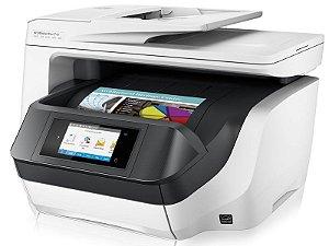Multifuncional Jato de Tinta Colorida HP D9L19A PRO 8720 Imprissão / Duplex / Copia / Digitaliza / Fax / WIFI / 37ppm / ADF Duplex