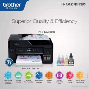 MFC-T4500DW - Multifuncional Color Tanque de Tinta Formato A3 Brother