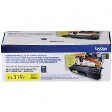 TN319Y - Toner Original Brother TN-319Y Amarelo Autonomia 6.000Paginas